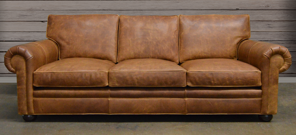 The Langston Leather Furniture Collection from LeatherGroups